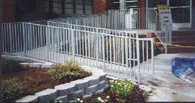 handicap ramp rail
