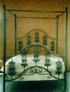 iron and brass beds